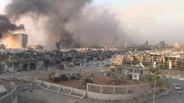 Les images de Beyrouth sinistrée après les deux gigantesques explosions