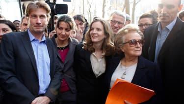 Bernadette Chirac au côté de Nathalie Koscuisko-Morizet mardi 17 décembre