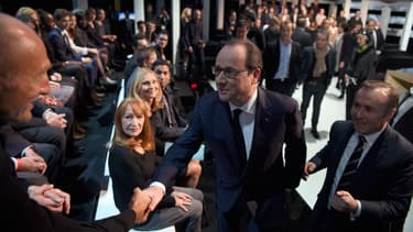 Selon un sondage, François Hollande n'a pas réussi à être convaincant sur TF1.