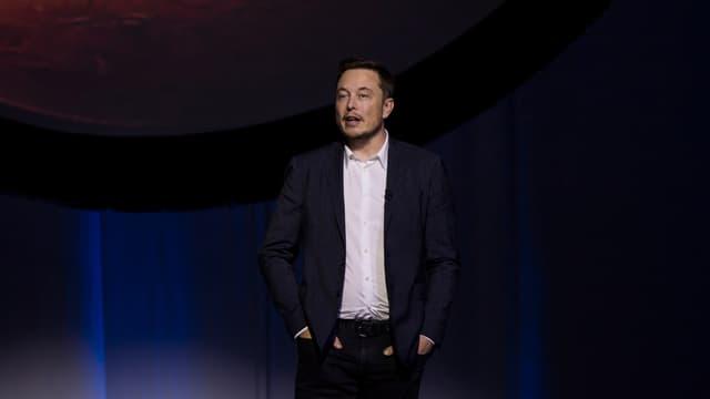 Elon Musk, patron et fondateur de Tesla et de Space X.