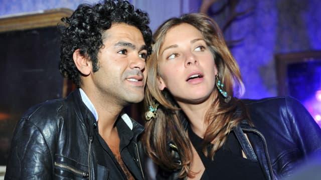 Jamel Debbouze et Melissa Theuriau en 2008, quelques mois avant leur mariage