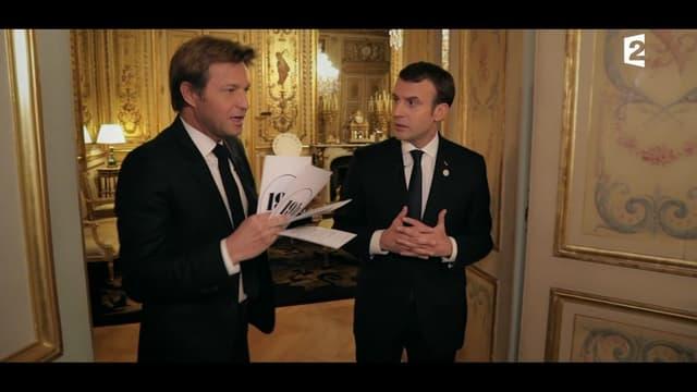 Emmanuel Macron a répondu aux questions de Laurent Delahousse dimanche 17 décembre