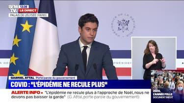 """Gabriel Attal: Gérald Darmanin a présenté un projet de loi """"décalant au moins à juin les élections régionales et départementales"""""""