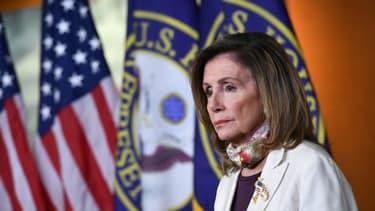 Nancy Pelosi, présidente démocrate de la Chambre des Représentants à Washington le 6 août 2020
