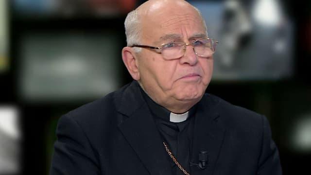 """L'archevêque d'Alep, Jean-Clément Jeanbart craint que la Syrie """"se vide""""."""