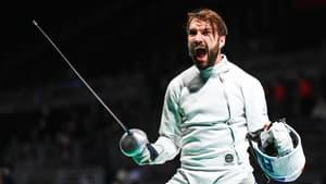 Romain Cannone lors des Jeux olympiques de Tokyo
