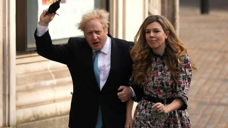 """Boris Johnson se marie """"en secret"""" avec sa fiancée Carrie Symonds, selon la presse britannique"""