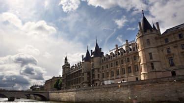 L'ancien palais de justice de Paris, sur l'île de la Cité