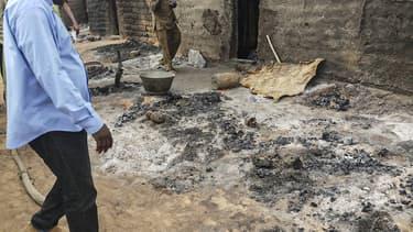 Des habitants à Sobane-Kou, près de Sangha au Mali.