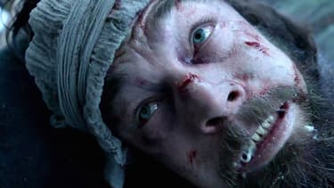 "Leonardo DiCaprio dans ""The Revenant""."