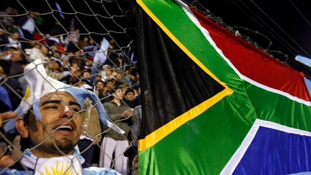 Supporters sud-africains