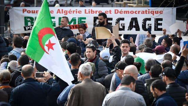 Des Algériens manifestent contre une cinquième candidature d'Abdelaziz Bouteflika. (Photo d'illustration)