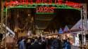 Le village de Noël des Champs-Elysées en décembre 2016