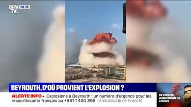 Les 2750 tonnes de nitrate d'ammonium à l'origine des explosions à Beyrouth selon le Premier ministre libanais
