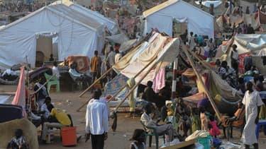 Des Soudanais se sont réfugiés dans une base de l'ONU à Juba