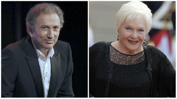 Michel Drucker et Line Renaud
