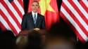Barack Obama est actuellement en visite au Vietnam, autrefois ennemi des États-Unis.