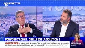 """Pour Jean-Luc Mélenchon, le plein-emploi parait """"assez simple à réaliser"""""""