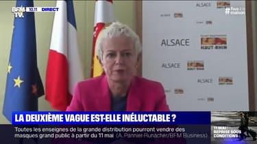 La présidente du conseil départemental du Haut-Rhin, Brigitte Klinkert, a alerté sur un relâchement déjà constaté dans les rues à deux semaines du 11 mai.