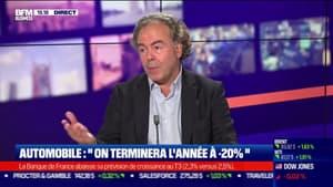 """Luc Chatel (marché auto) :  """"nous allons terminer l'année autour de -20%"""""""