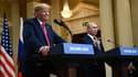 Donald Trump le 16 juillet 2018 à Helsinki.