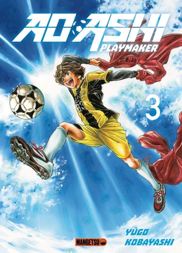 """La couverture du tome 3 de """"Ao Ashi"""" de Yûgo Kobayashi, disponible le 7 juillet"""