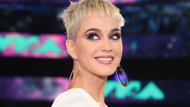 Katy Perry lors des MTV Video Music Awards en 2017