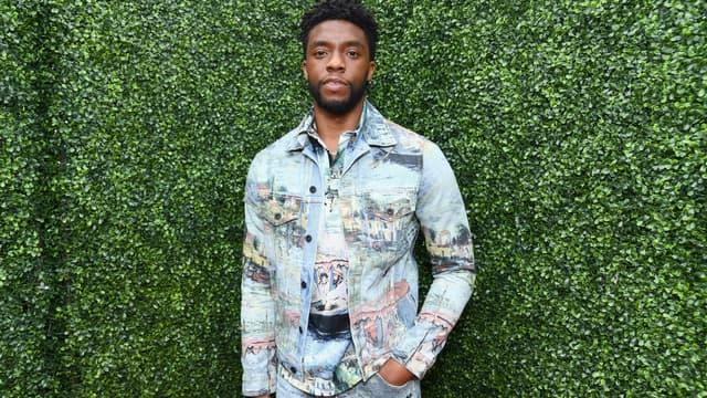 Chadwick Boseman en juin 2018