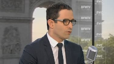Benoît Hamon était l'invité de BFMTV-RMC, mercredi 29 mai.