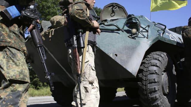 Le cessez-le-feu n'aurait pas été respecté dans la nuit de vendredi à samedi dans l'est de l'Ukraine.