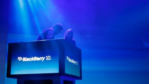 Blackberry commence a retrouver la lumière.