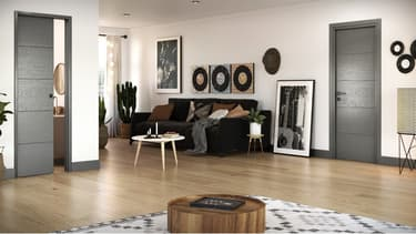 Sogal commercialise une gamme de portes alliant confort, robustesse et design personnalisable.