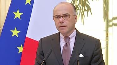 Le ministre de l'Intérieur Bernard Cazeneuve, le 22 avril 2015