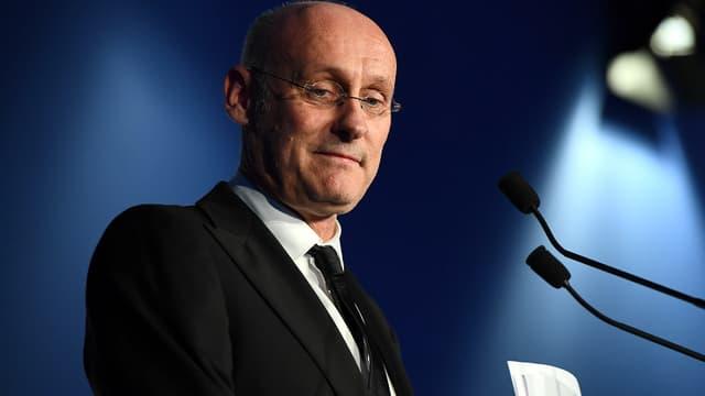 Le président de la FFR, Bernard Laporte