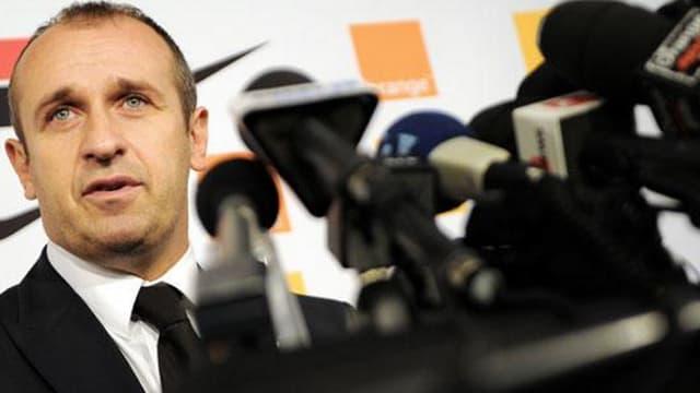 Le sélectionneur du XV de France Philippe Saint-André