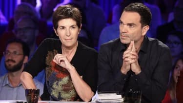 Christine Angot et Yann Moix dans ONPC