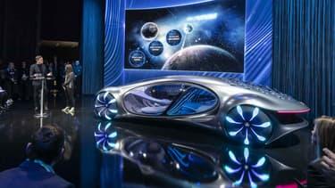 Au Ces de Las Vegas, Mercedes a dévoilé un concept-car qui s'inspire du film de James Cameron, Avatar.