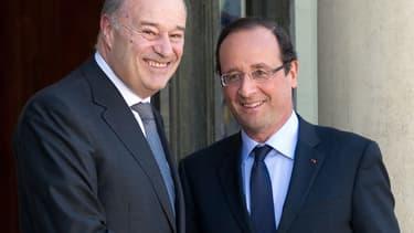 Les élections sénatoriales de dimanche ont consacré la défaite de Jean-Michel Baylet (à gauche, ici en 2012) et du fief de François Hollande par le PS.