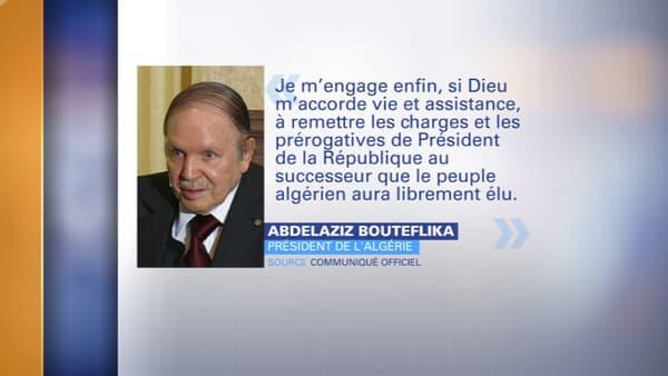 Abdelaziz Bouteflika, ce lundi.