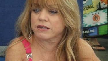 L'actrice américaine Debbie Lee Carrington, en 2010 au Comic Con.