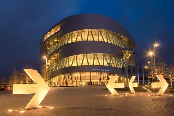Le musée Mercedes est une réussite architecturale et la visite de cet écrin vaut le détour.