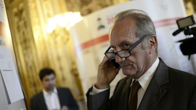 Gérard Longuet sénateur LR et ancien ministre.