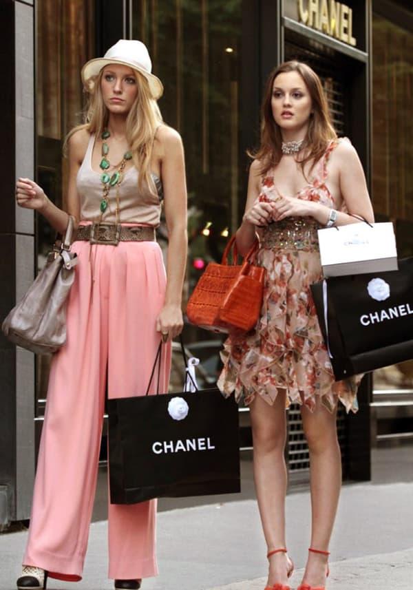 """Serena et Blair dans """"Gossip Girl"""""""
