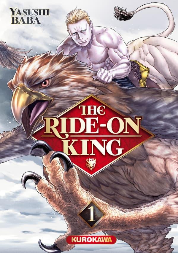 "Couverture du manga ""The Ride-on King"""