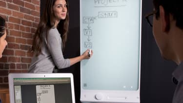Les applications du tableau connecté, de la réunion de travail à la salle de classe, sont multiples.