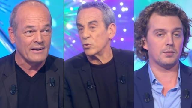"""Laurent Baffie, Thierry Ardisson et Alex Vizorek dans """"Salut Les Terriens"""""""