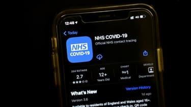 Lancement de l'application de traçage des cas de coronavirus en Angleterre et au Pays de Galles le 24 septembre 2020