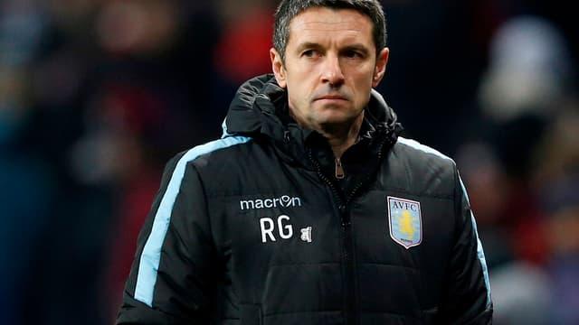 Rémi Garde, l'entraîneur français d'Aston Villa