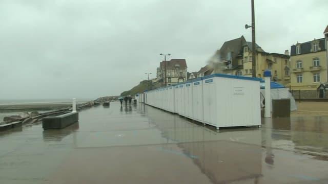 La préfecture maritime prévoit de fortes rafales de vent sur le littoral ce mardi.
