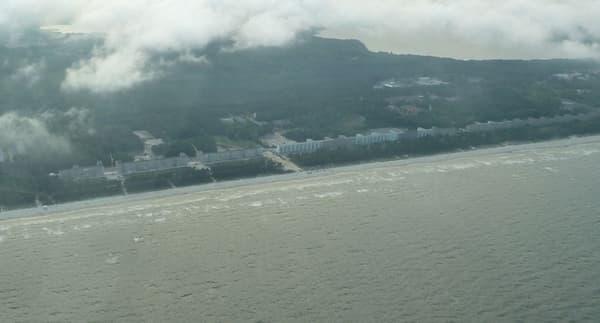 Vue aérienne de Prora